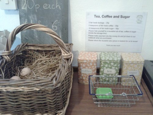 The Provisions Place - eggs, tea, coffee & sugar