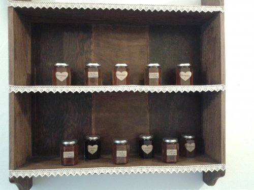 Jams and chutneys made in Belton