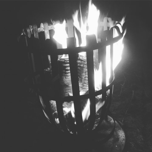 Hire a fire basket and gather round to keep warm - credit: Georgina Hayward